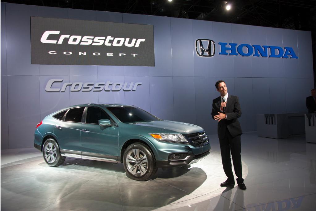 Honda zeigt Crosstour-Konzeptfahrzeug in New York