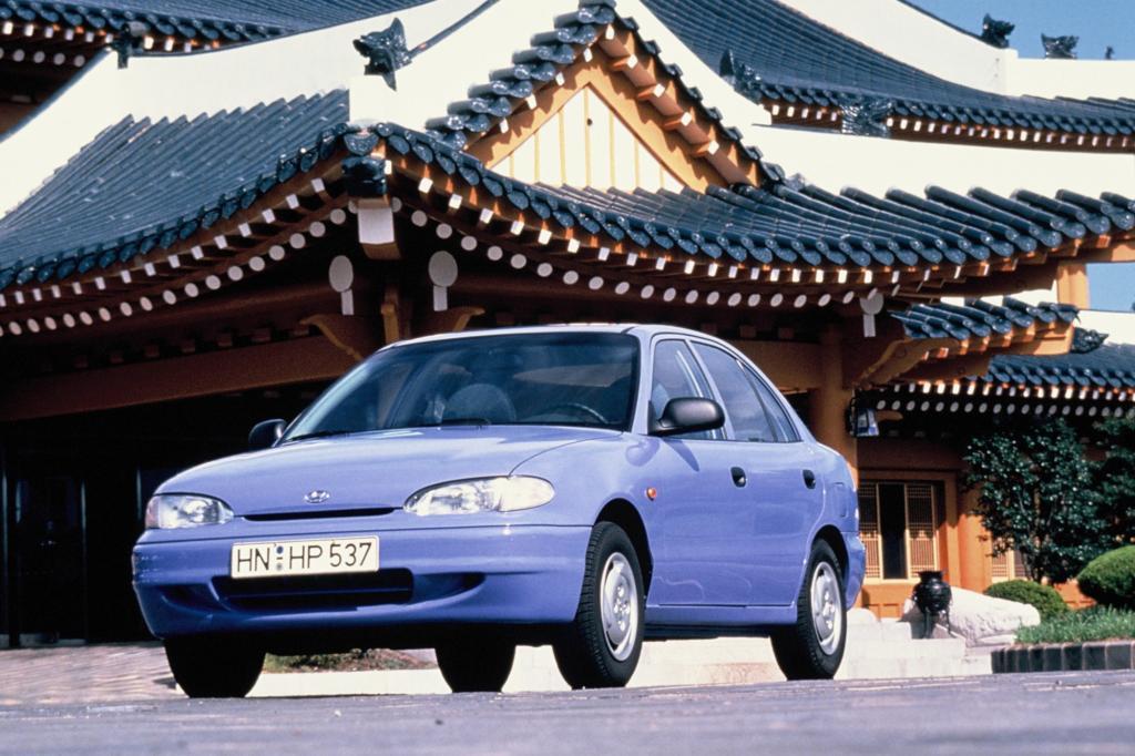 Hyundai Accent erste Generation ab 1996