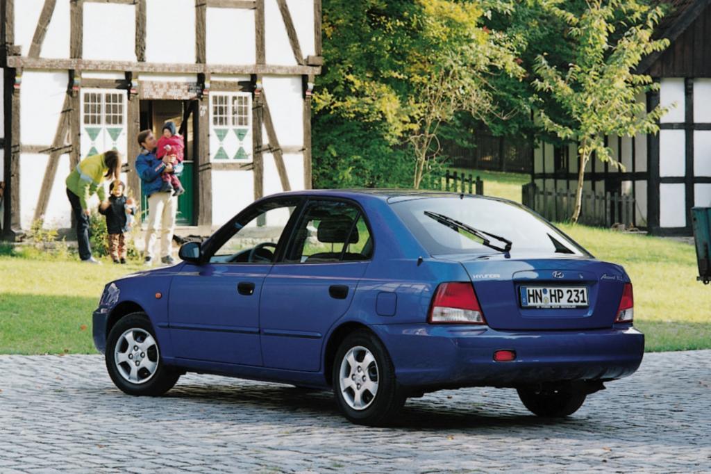 Hyundai Accent zweite Generation ab 2000