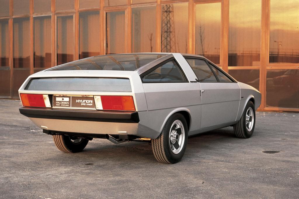 Hyundai Pony Coupe Concept 1974