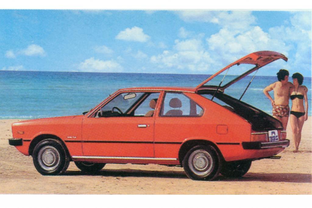Hyundai Pony Dreitürer ab 1980