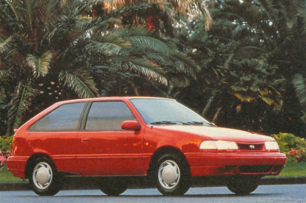 Hyundai Pony Dreitürer ab 1989