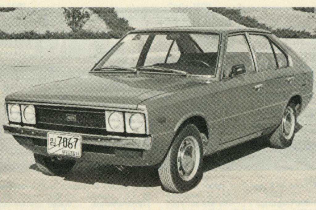 Hyundai Pony ab 1974
