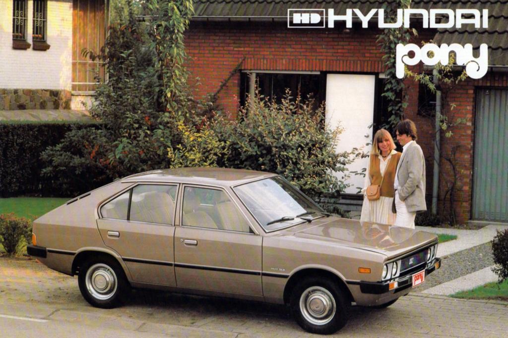 Hyundai Pony ab 1975
