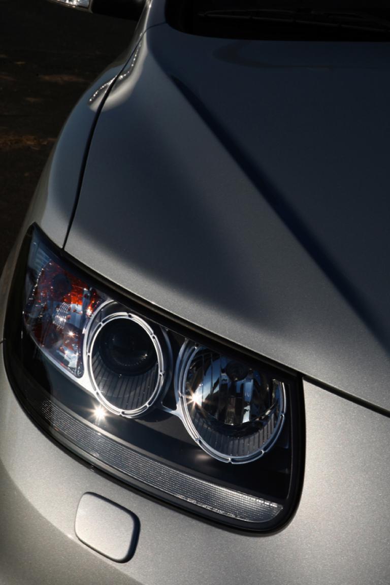 Hyundai Santa Fe: Moderne Rundleuchteneinheit vorn.