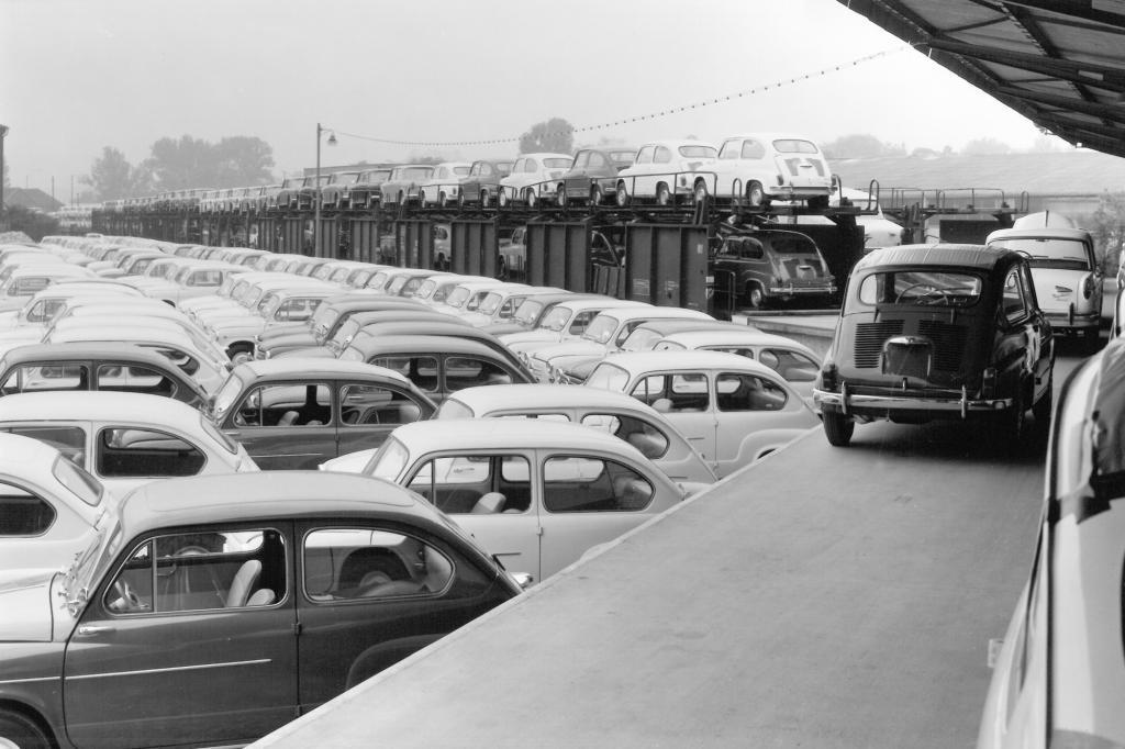 Im Verladebahnhof ab 1956
