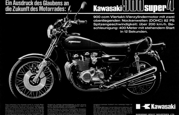 Kawasaki feiert 40 Jahre Z-Modelle