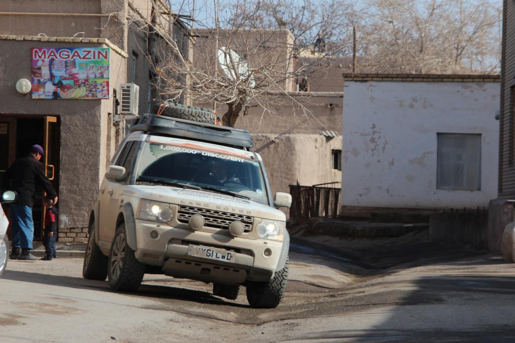 Land Rover feiert die Produktion des ein-millionsten Discovery