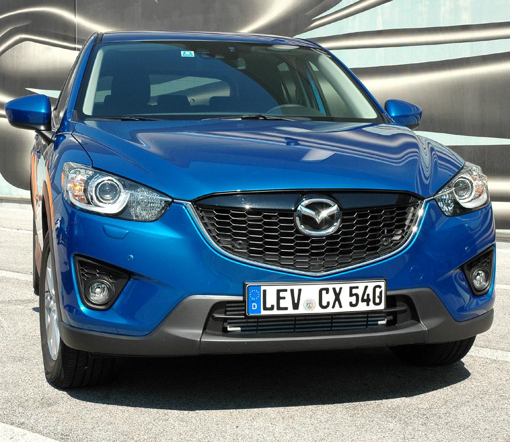 Mazda CX-5: Andere schaffen große Frontgrills ab, die Japaner setzen auf sie.