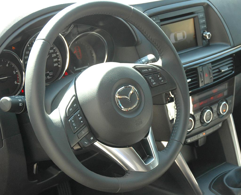 Mazda CX-5: Blick ins Cockpit.