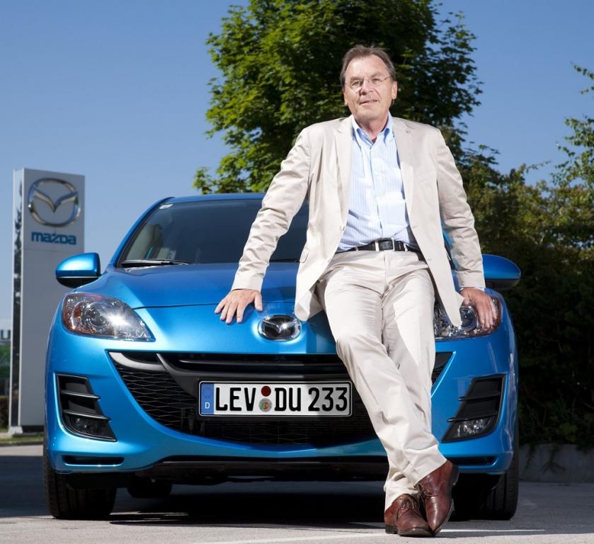 Mazda-Deutschland-Chef Josef Schmid. Foto: Mazda