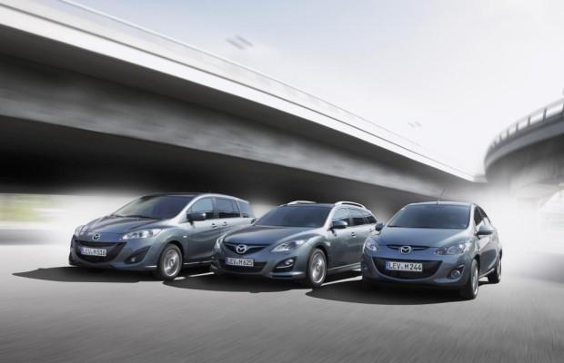 Mazda Sondermodelle - Günstiges zum Geburtstag