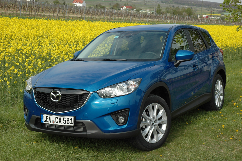 Mazdas jüngste Produktneuheit: Kompakt-SUV CX-5. Fotos: Koch/Mazda