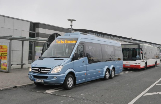 Mercedes Minibusse auf Sprinter-Basis