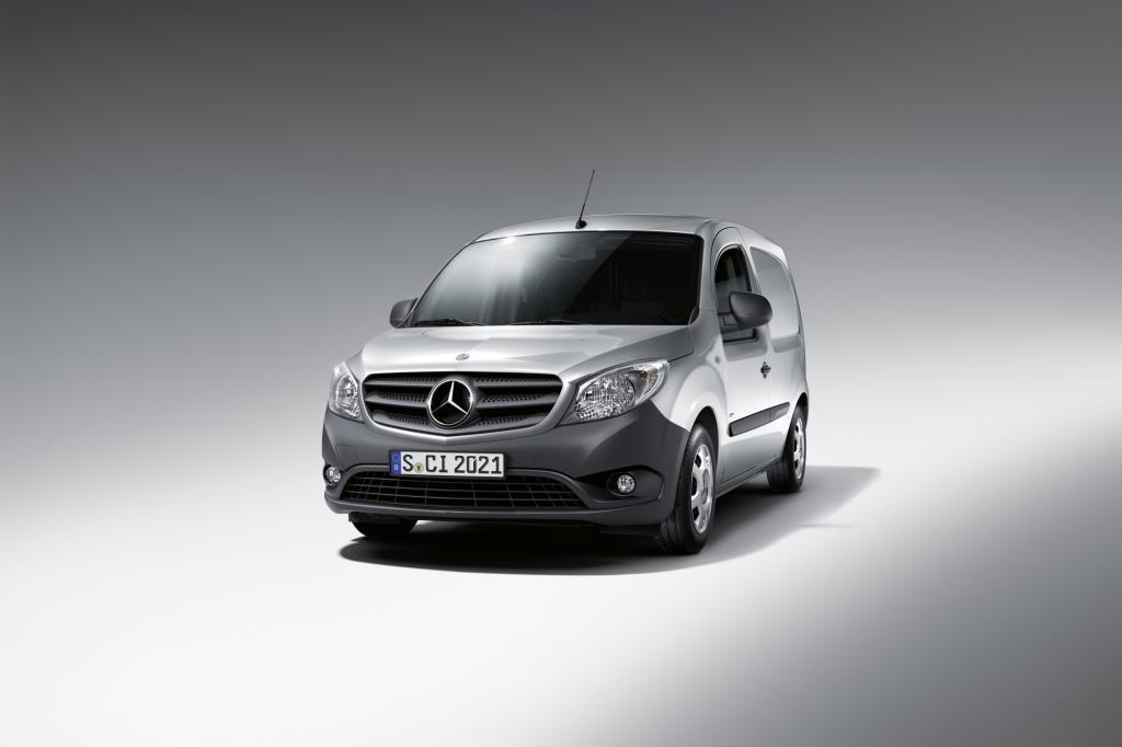 Mit dem Citan steigt Mercedes wieder in das Lieferwagen-Geschäft ein