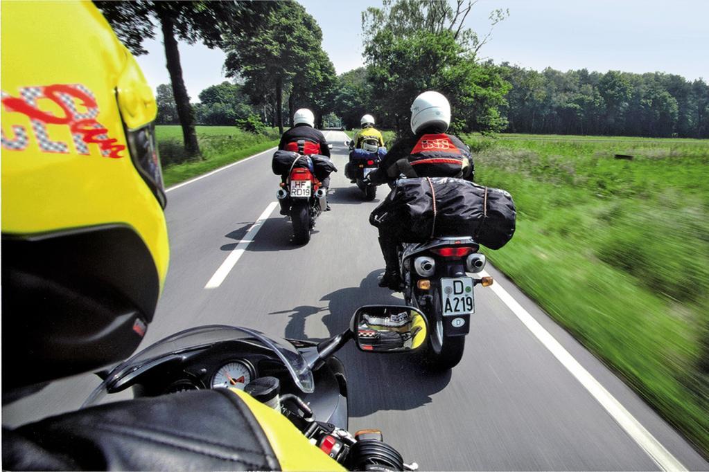 Motorradreise: Richtiges Beladen zur Sicherheit