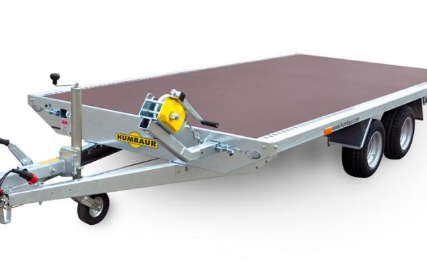 Neuer Fahrzeugtransporter von Humbaur universell verwendbar