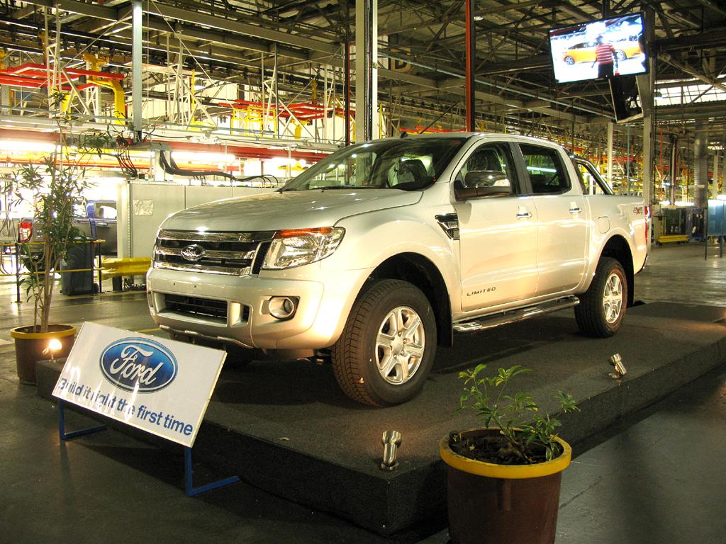 Neuer Ford Ranger im Werk Silverton bei Pretoria in Südafrika.