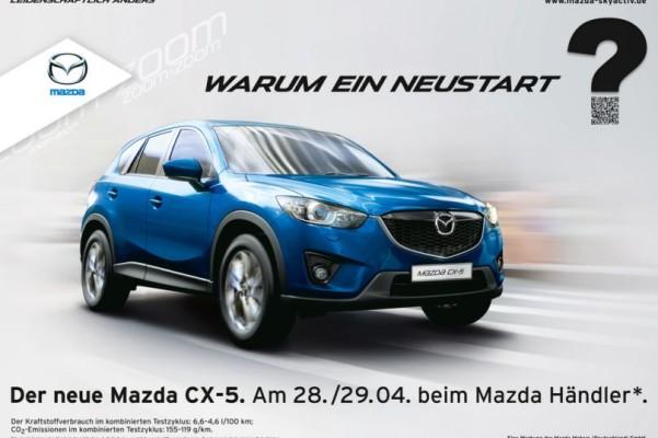 Neustart für den Mazda CX-5