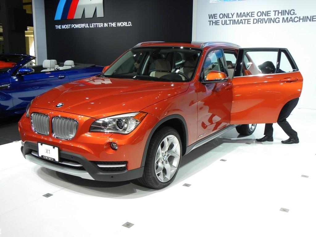 New York 2012: BMW X1 auf dem Sprung in die USA.