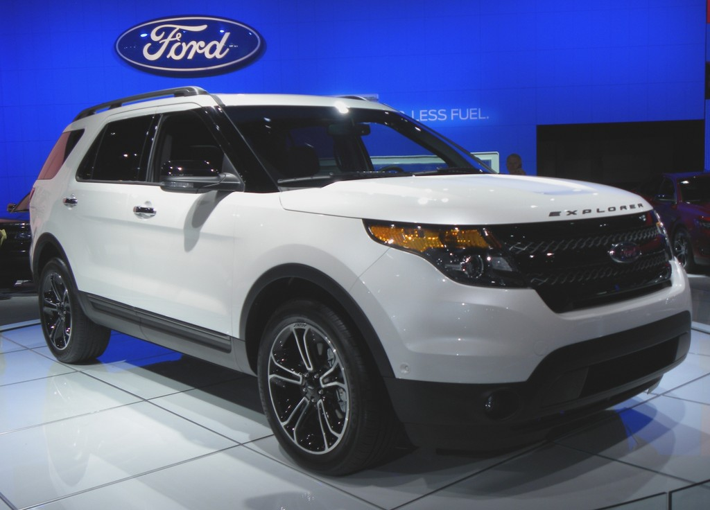 New York 2012: Ford Explorer Sport neues Topmodell