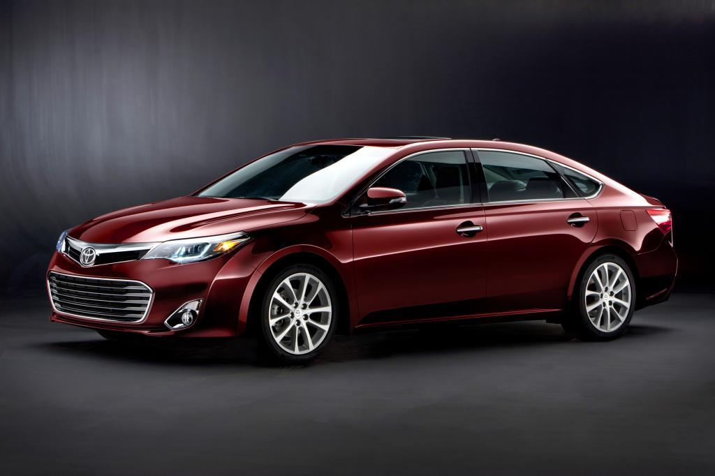 New York 2012: Toyota Avalon: Top-Limousine nur für die USA