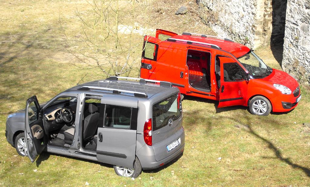 Opel Combo: Guter Überblick über das Transporter/Van-Duo.
