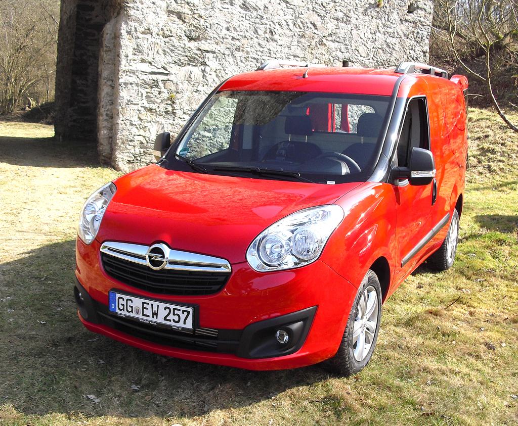 Opel Combo, hier als Kastenwagen.
