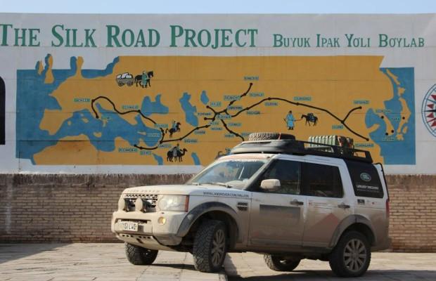 Panorama: Abenteuer Asien im Land Rover Discovery - Auf den Spuren Dschingis Khans