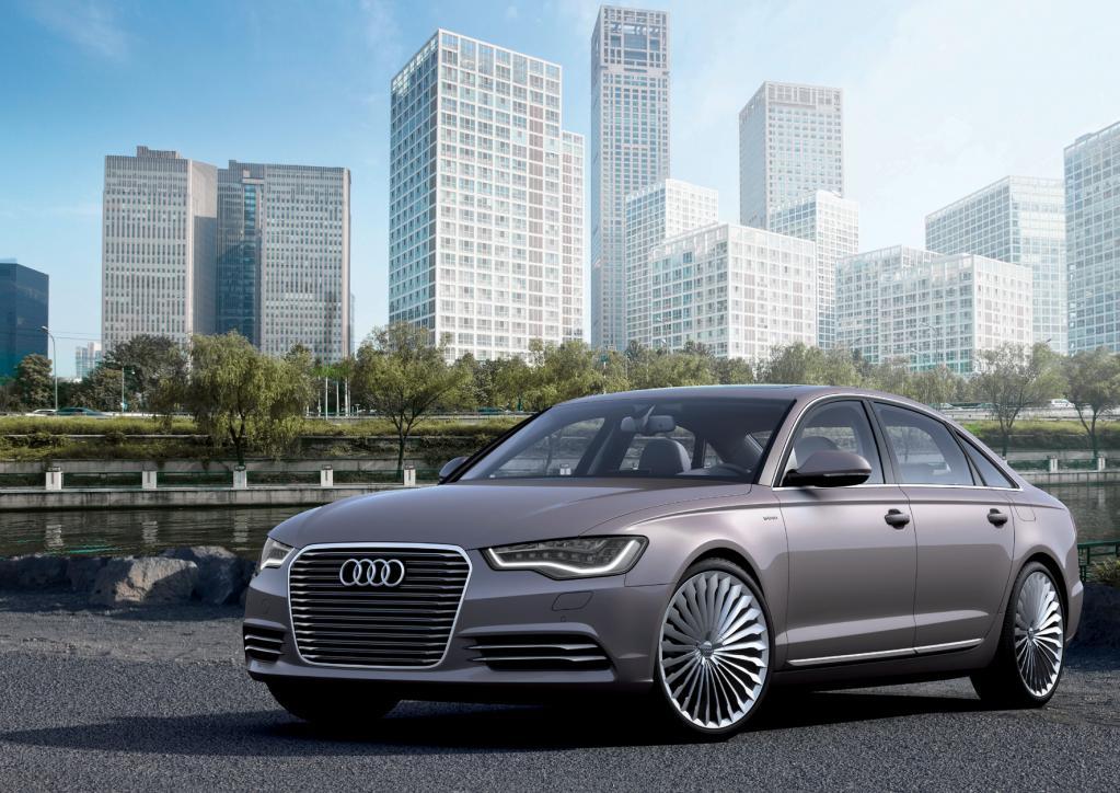 Peking 2012: Audi A6 e-tron conept: E-Limo für´s Land des Lächelns