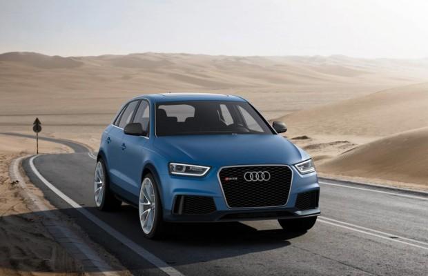 Peking 2012: Audi Q3 Concept - Hoch und schnell