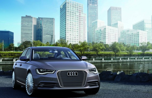 Peking 2012: Audi zeigt A6L E-Tron Concept