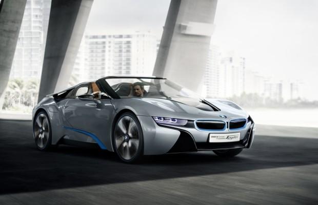 Peking 2012: BMW i8 Spyder Concept - Neue Runde für den Öko-Sportler