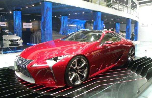 Peking 2012: Lexus zeigt LF-LC