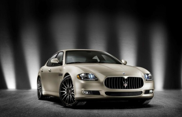 Peking 2012: Maserati Quattroporte - Länger geht immer