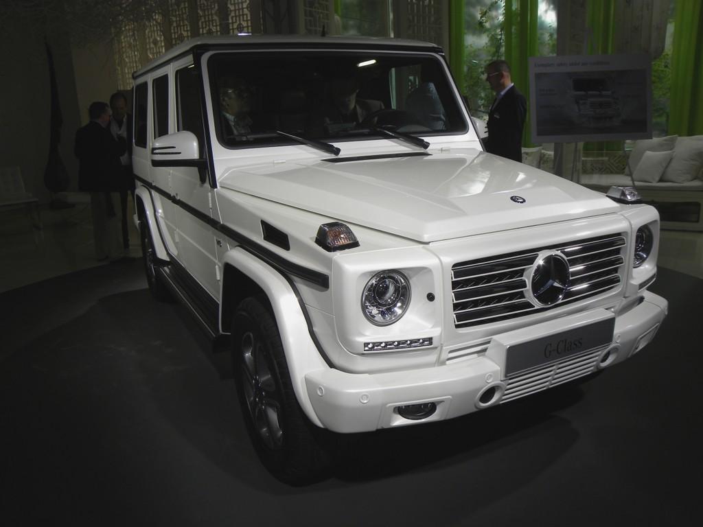 Peking 2012: Mercedes-Benz präsentiert neue Generation der G-Klasse