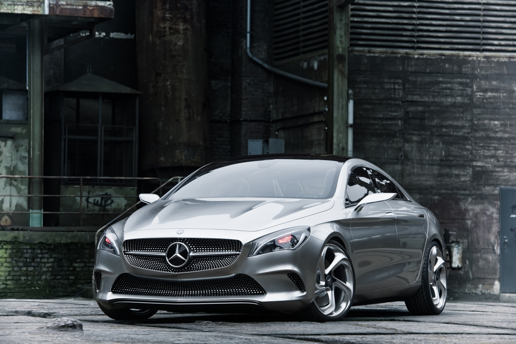 Peking 2012: Mercedes-Studie ''Concept Style Coupe'': Schwäbisches Coupele
