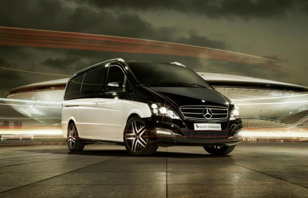Peking 2012: Mercedes Viano Vision Diamond - Der S-Klasse-Bus