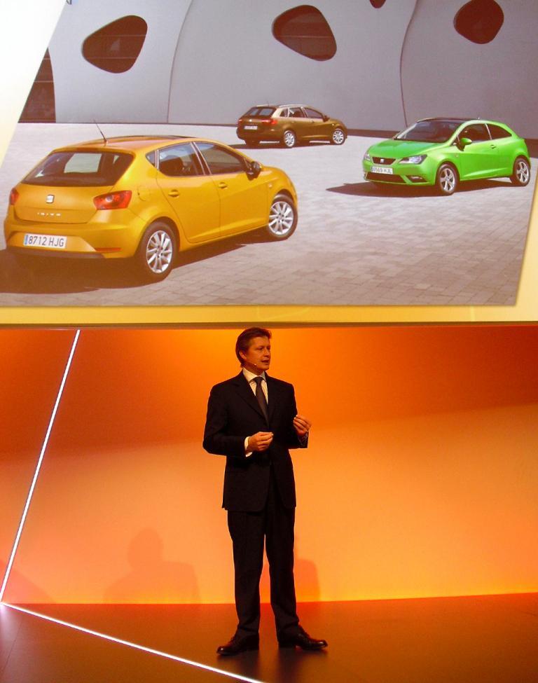 Seats neuer Deutschland-Chef Manfred Kantner kam von Fiat.