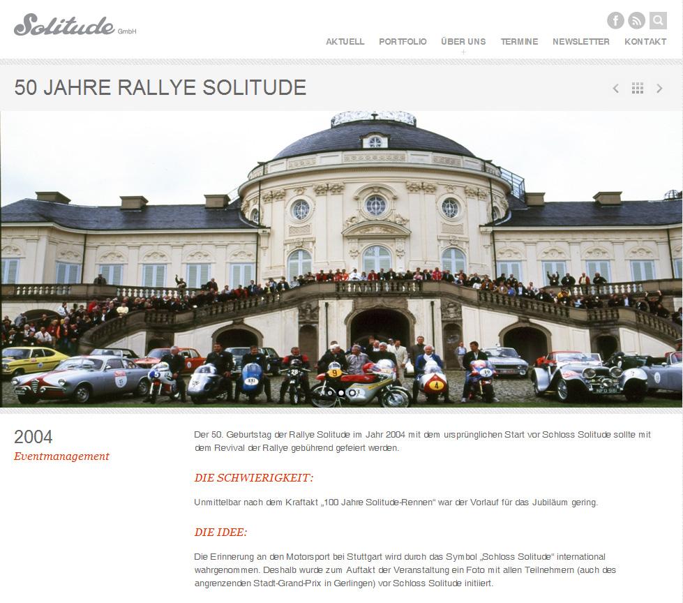 Solitude GmbH mit neuem Webauftritt