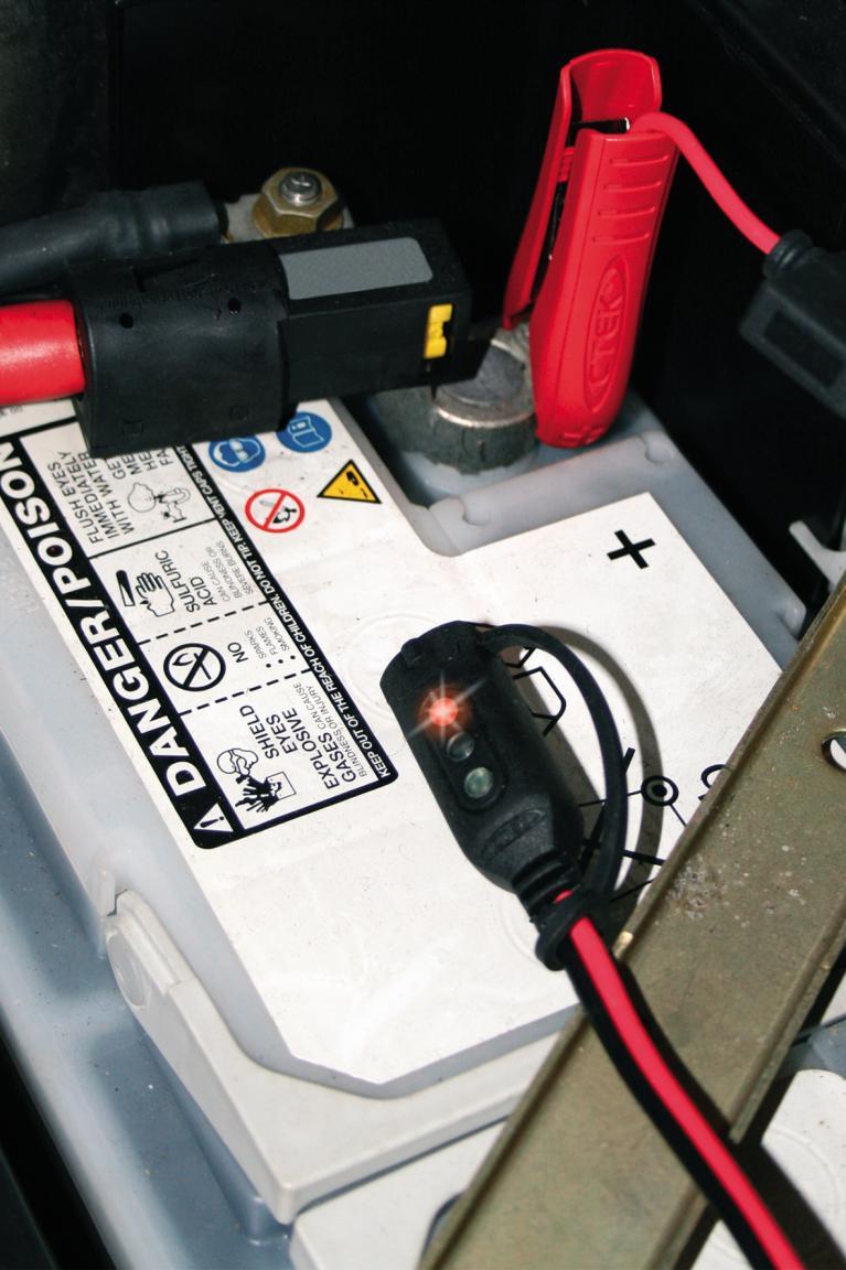 Spannungswächter: Die Batterieampel
