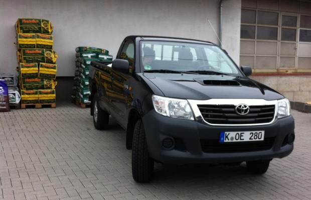 Test: Toyota Hilux Single Cab 2.5 D-4D - Das Arbeitstier