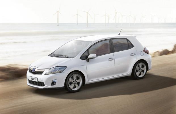 Toyota Auris Travel mit serienmäßigem Navigationssystem