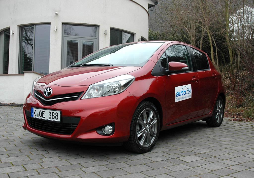 Toyota Yaris, hier als Fünftürer und einzig verfügbarer Diesel.