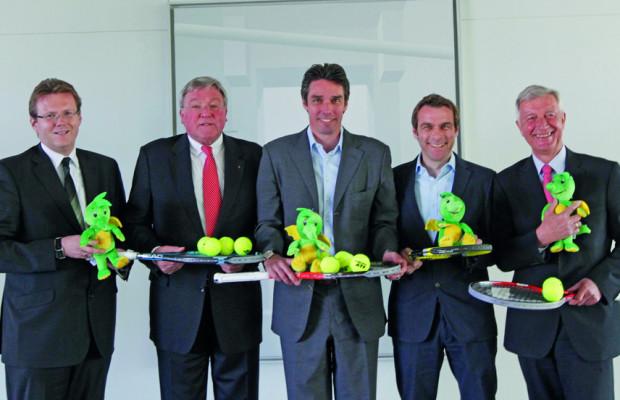 Volkswagen Premiumsponsor beim ATP-Challenger