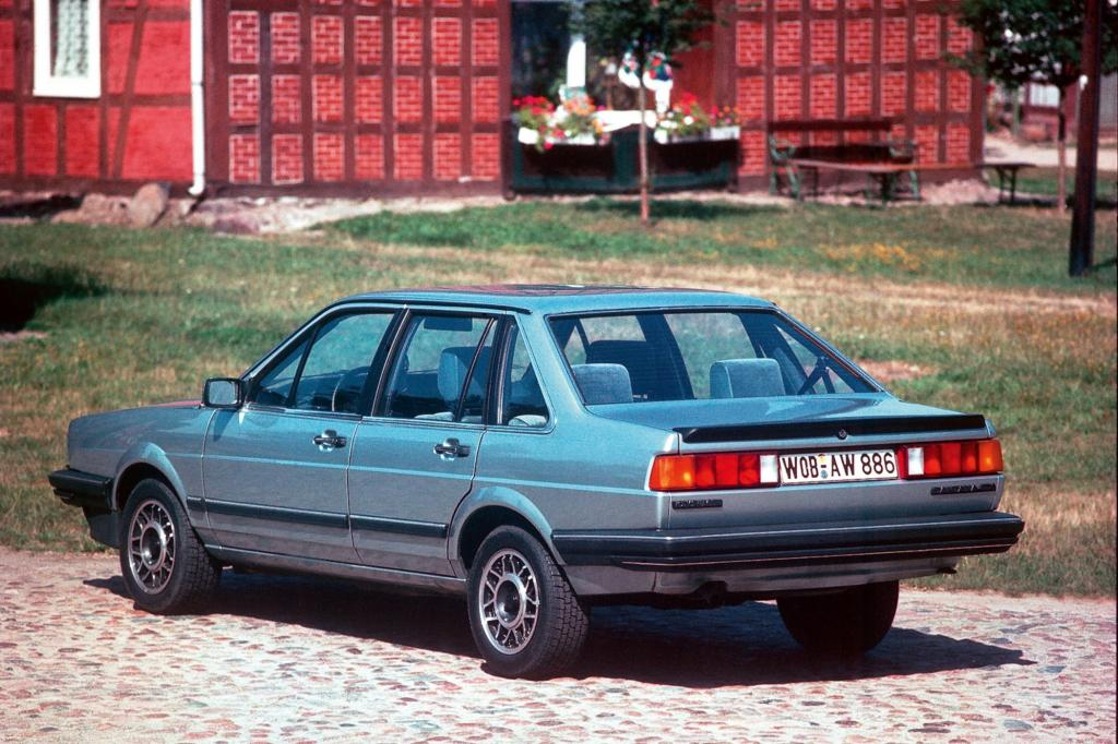 Volkswagen Santana - Langsamer Abschied