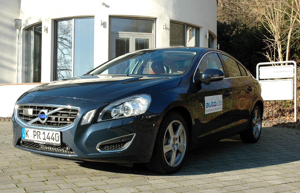 Volvo S60, hier als stärkster Diesel mit Allradantrieb.