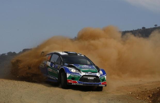 WM Rallye Portugal: Solberg kann im Ford Fiesta RS WRC Plätze gutmachen