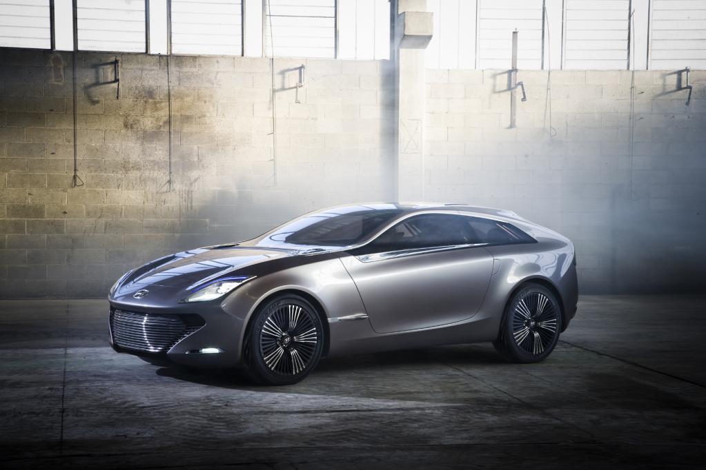 Wenn der Lack fließt: BASF beschichtet Hyundai Concept Car