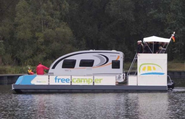 Zwillingstaufe der WoMo-freecamper im Aprilregen vollzogen